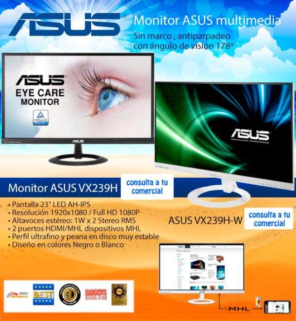 oferta monitor asus
