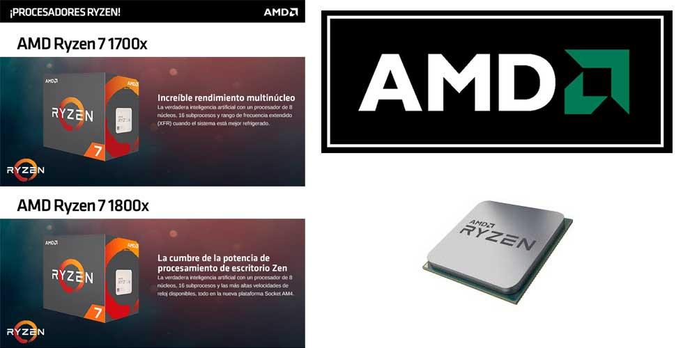 Bajada de precio en procesadores Ryzen de Amd