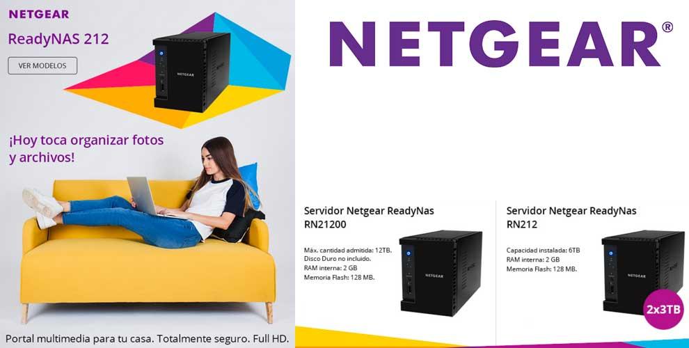 precio netgear ready nas