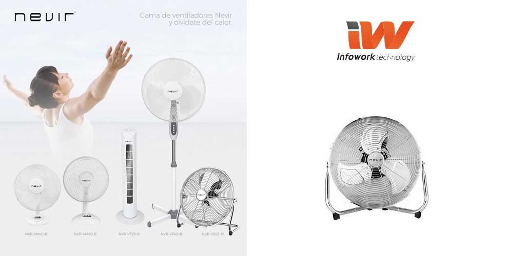 precio ventilador nevir