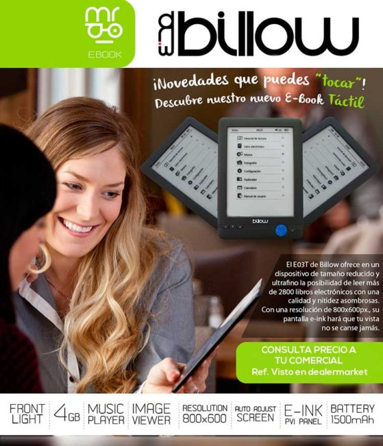 billow ebook reader