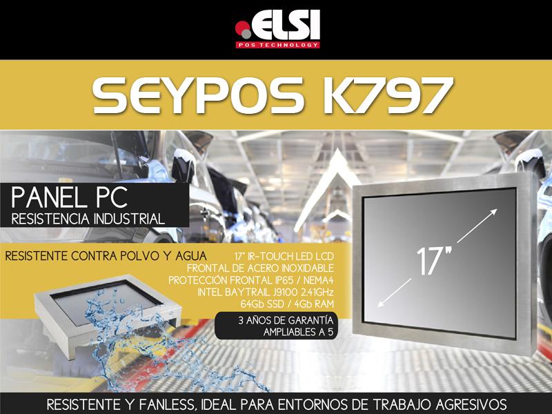 "seypos k797 metal panel pc 17"""