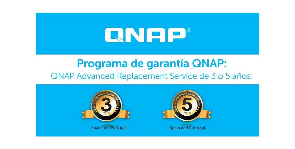 qnap advanced replacement service