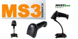 Muzybar presenta nuevos escaners 1D y 2D