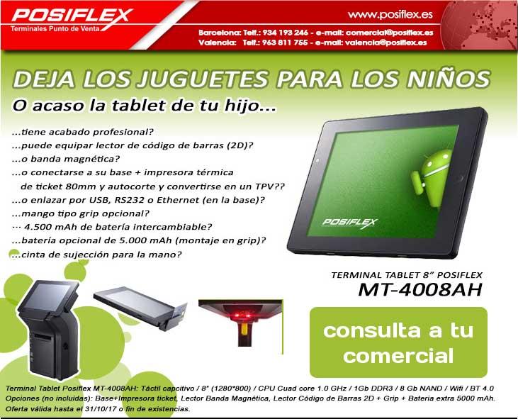 tablet posiflex MT-4008AH