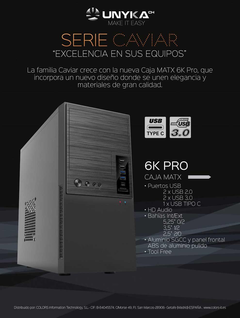 caja MATX 6K-Pro