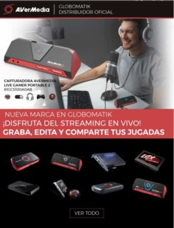 precio capturadora avermedia live gamer portable