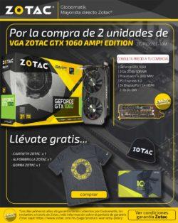 VGA ZOTAC GTX 1060 AMP! EDITION 3GB GDDR5