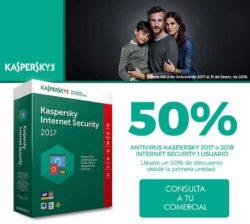 descuento antivirus kaspersky