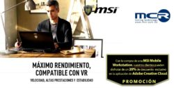 promo msi mobile workstation