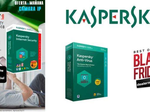 Black Friday desyman con Kaspersky
