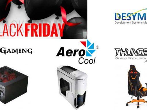 Black Friday desyman con mars gaming, aerocool y thunderx