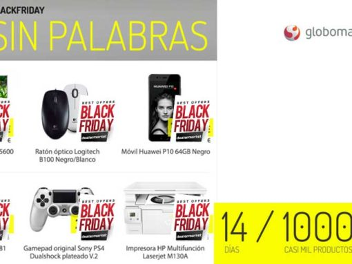 Black Friday sin palabras en Globomatik