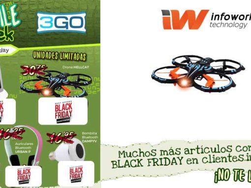 Black Friday 3GO en Infowork