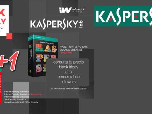 Black Friday Kaspersky en Infowork