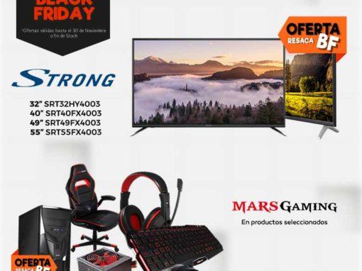 Resaca Black Friday Infowork con Strong y Mars Gaming