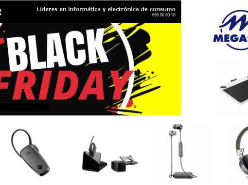 Black Friday Megasur con AEG, motorola, Plantronics, Wacom y Fonestar