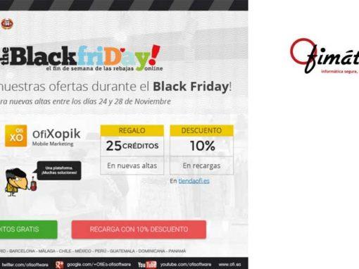 Aprovecha las ofertas Black Friday de Ofimática