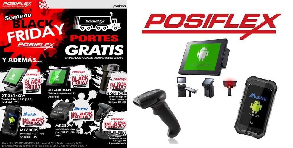 Semana Black Friday en Posiflex con portes gratis - dealermarket