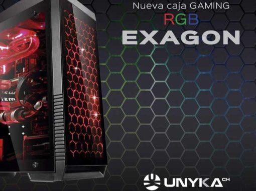 Exagon y Armor: las cajas gaming que querrás este Black Friday