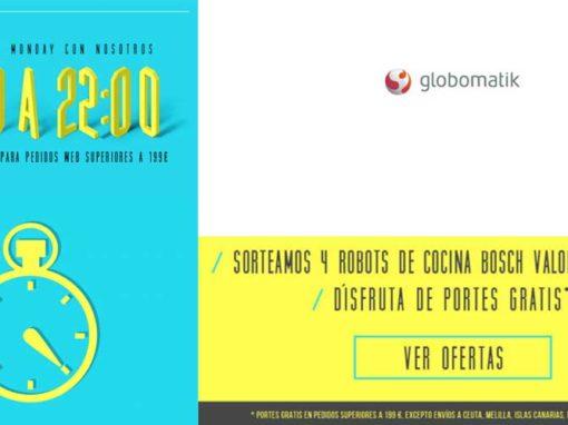 Celebra el Cyber Monday con Globomatik