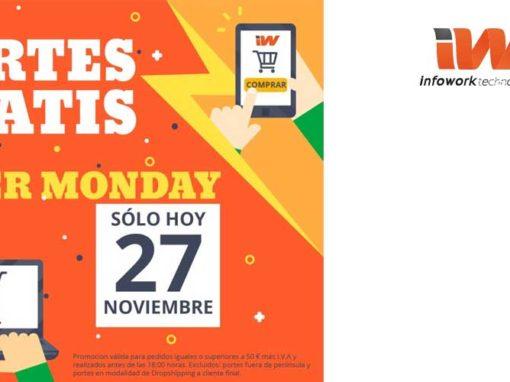 Portes Gratis en el Cyber Monday de Infowork