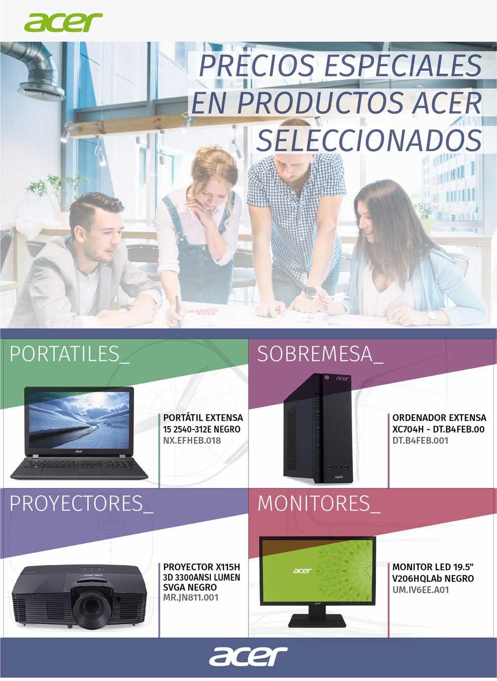 precios especiales Acer