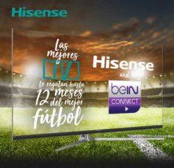 12 meses futbol gratis con hisense