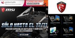 Bajada de precios MSI Placas Base y Tarjetas Gráficas