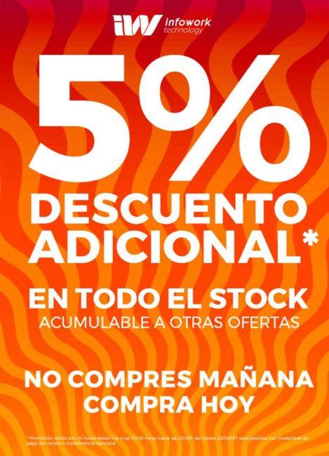 5% descuento adicional