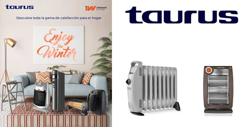 descubre la gama de calefacción taurus para el hogar