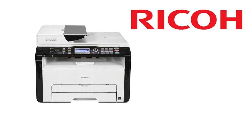 Multifunción ricoh laser monocromo sp213sfnw fax a4 22ppm 128MB USB red WIFI adf 15 hojas conectividad movil