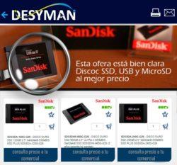 descuentos Sandisk SSD
