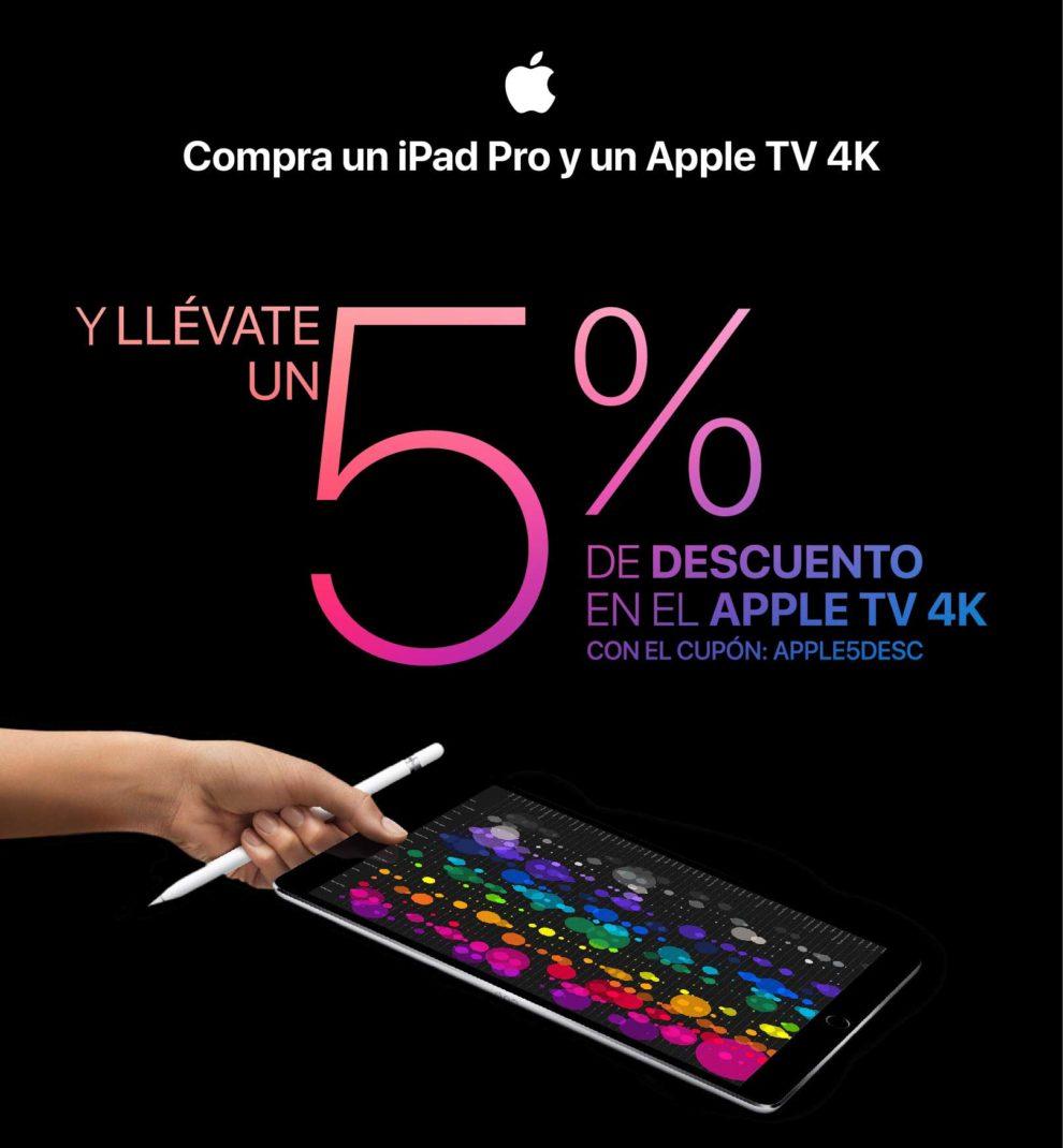 5% descuento en apple