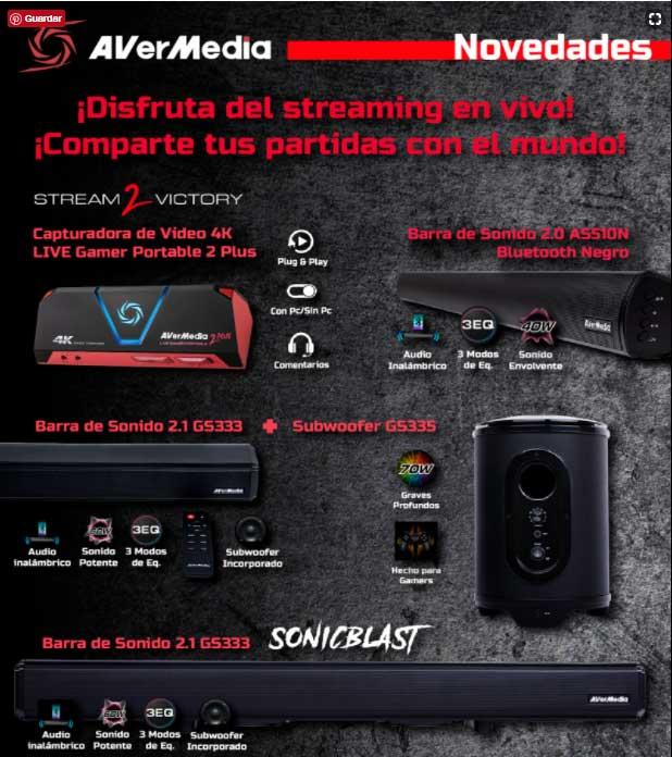 precio avermedia live gamer portable