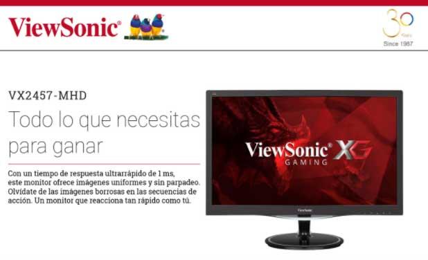 precio monitor viewsonic
