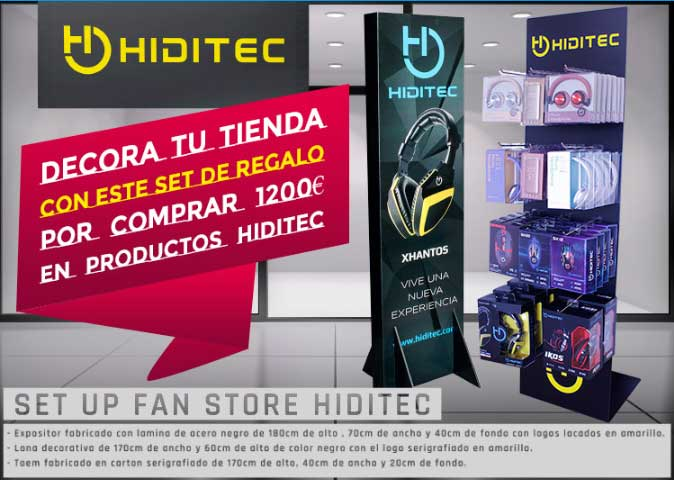 set up fan store hiditec