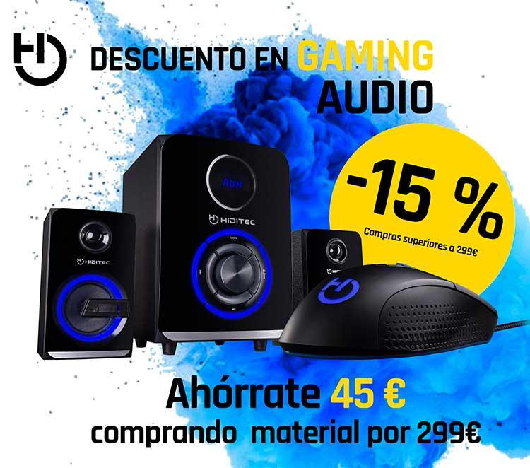 rebajas audio game