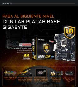 precio placa base gigabyte