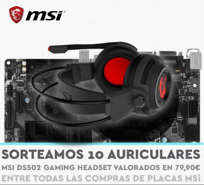 sorteo auriculares msi