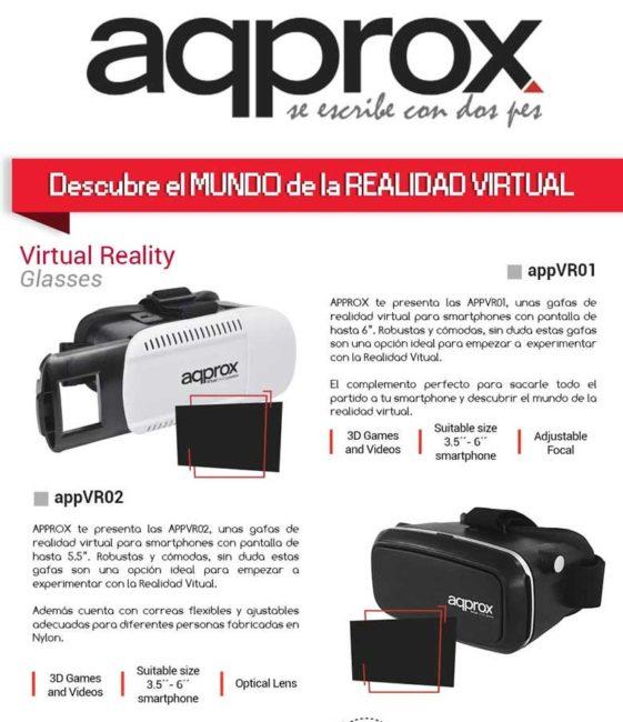 descubre la realidad virtual con approx