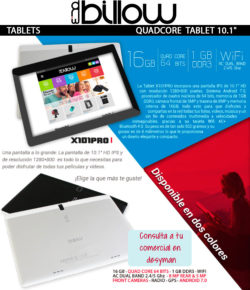 desyman billow tablet quad core