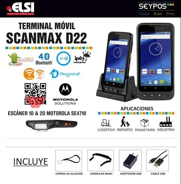 terminal móvil seypos scanmax
