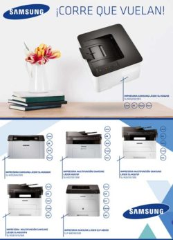 oferta impresoras samsung