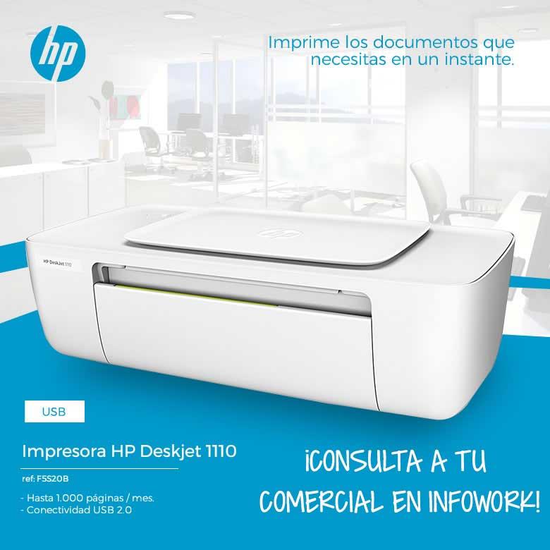 comprar IMPRESORA HP DESKJET 1110 USB