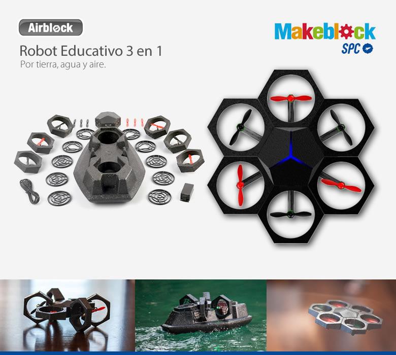 comprar ROBOT EDUCATIVO SPC MAKEBLOCK AIRBLOCK