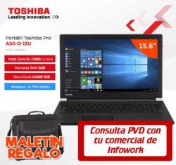 precio portatil toshiba Pro A50