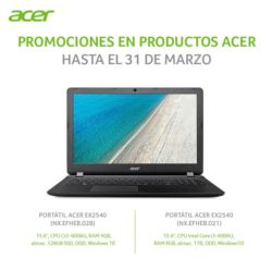 precio acer extensa ex2540