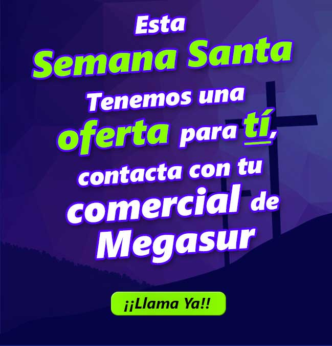 promo semana santa en megasur
