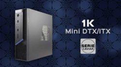 caja mini dtx/ITX 1K Serie Caviar